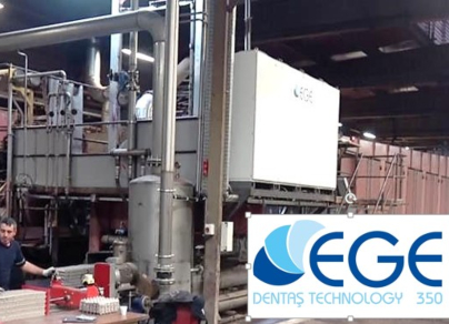 Dentaş Kağıt ege350 Rotary machine